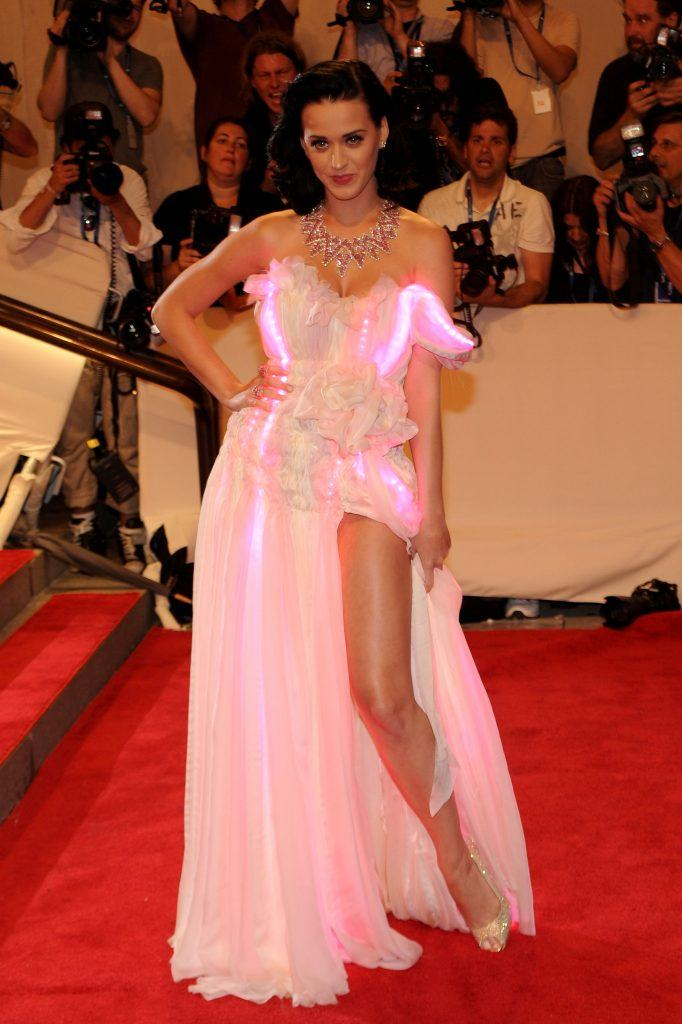 """Katy Perry attends the Costume Institute Gala Benefit to celebrate the opening of the """"American Woman: Fashioning a National Identity"""" exhibition at The Metropolitan Museum of Art"""