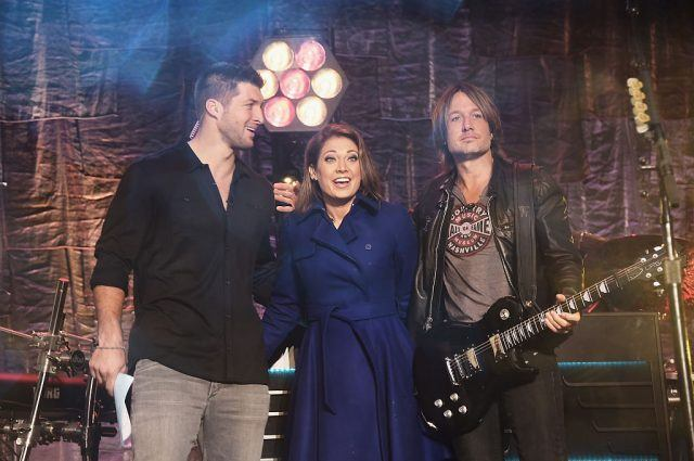 "Keith Urban Performs On ABC's ""Good Morning America"""