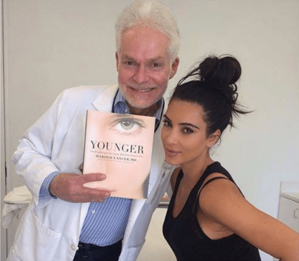 Kim Kardashian and Dr Lancer