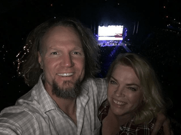 "Kody Brown and Janelle Brown from ""Sister Wives"""