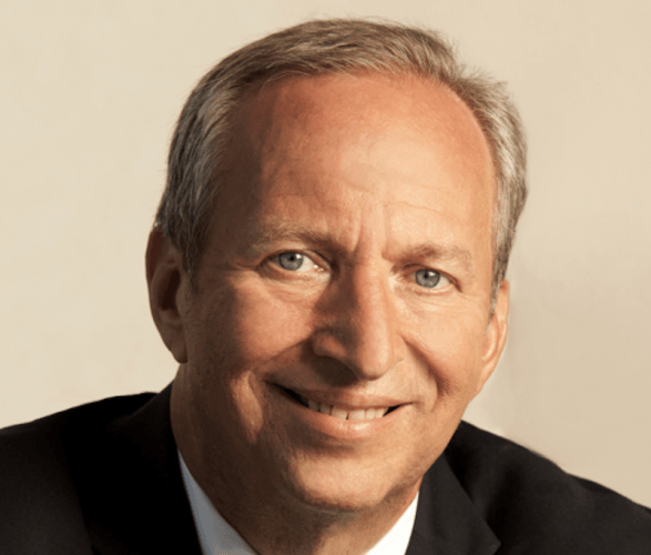 Larry Summers smiling in a headshot.