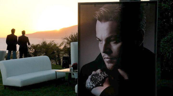 Leonardo DiCaprio TAG Heuer