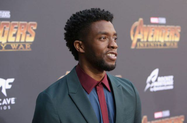 Actor Chadwick Boseman attends the Los Angeles Global Premiere for Marvel Studios Avengers