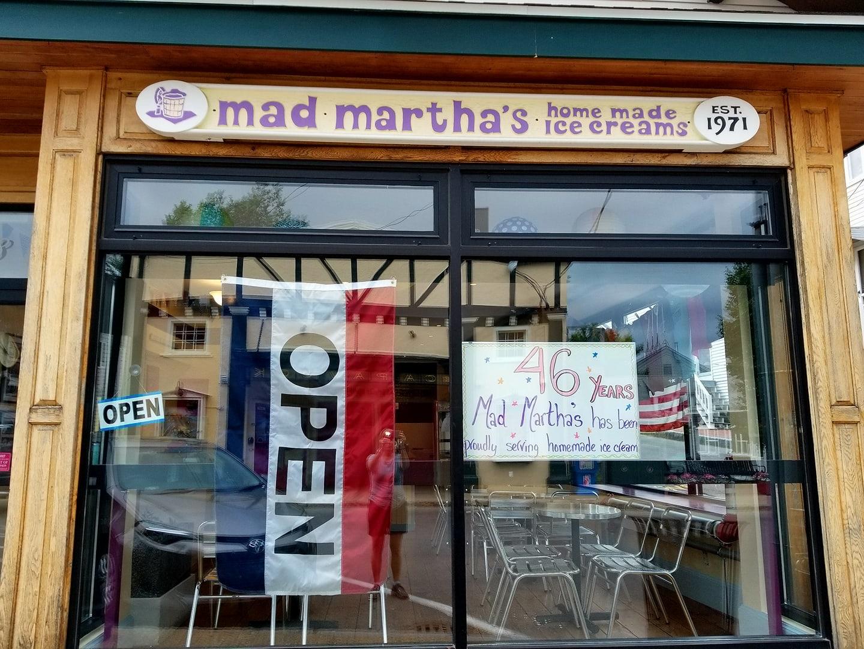Mad Martha's ice cream