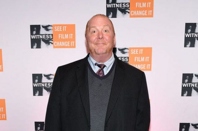 Mario Batali attends the WITNESS 25th Anniversary Gala