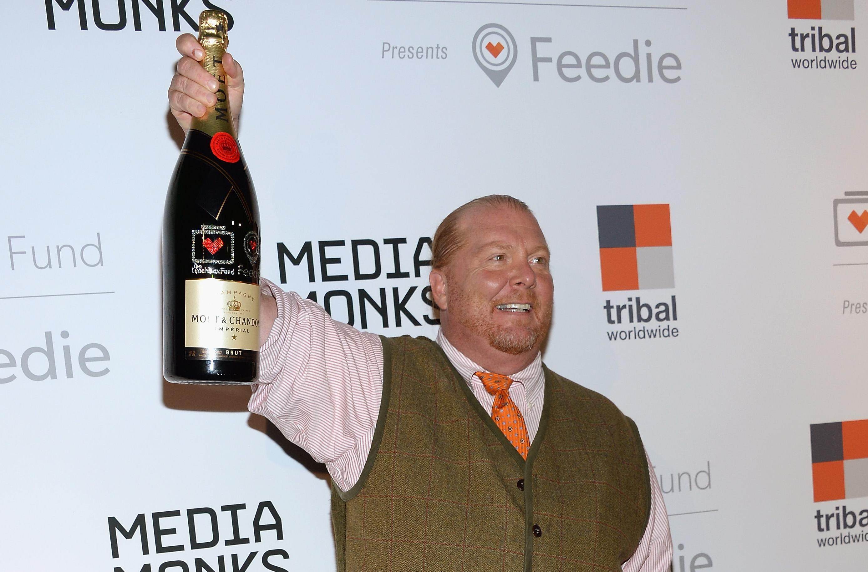 Mario Batali at The Lunchbox Fund Fall Fete And Feedie App Launch - Arrivals