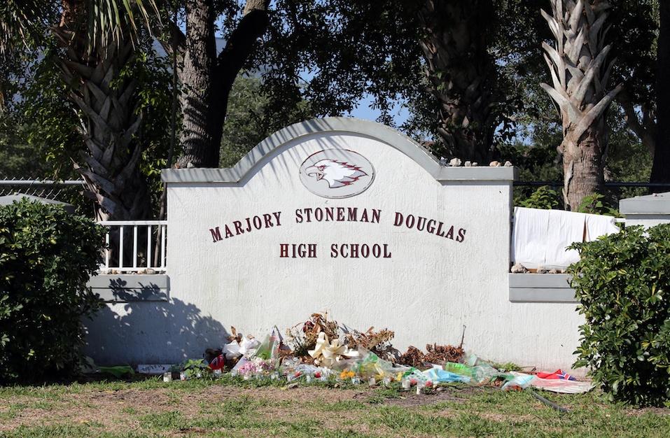 Marjory Stoneman Douglas High School in Parkland Florida