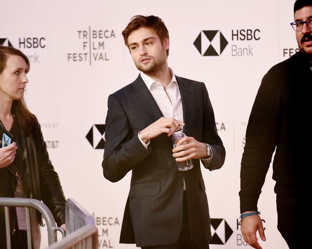 Actor Douglas Booth attends the screening of 'Mary Shelley'