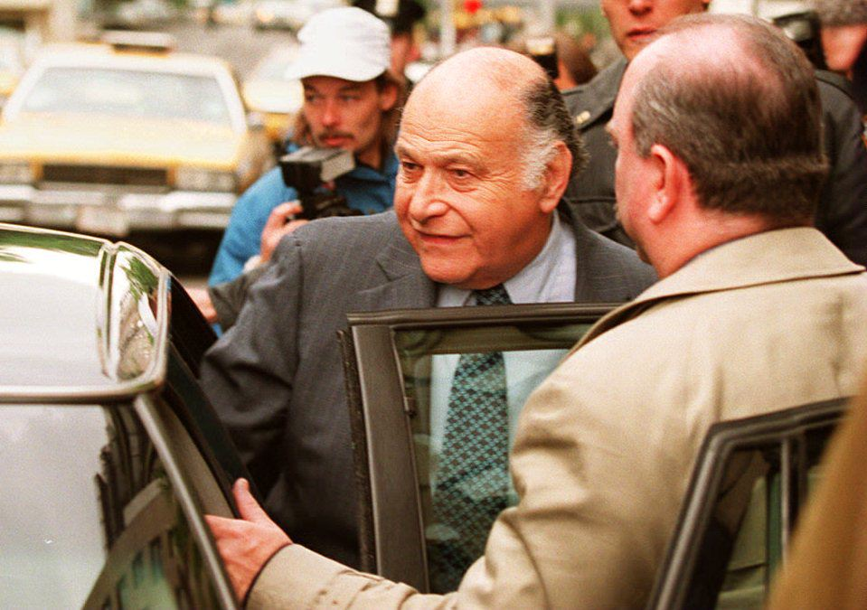 Maurice Tempelsman, longtime friend and companion of former US First Lady Jacqueline Kennedy Onassis