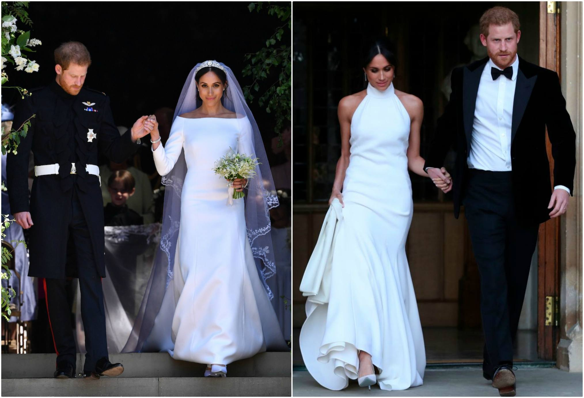 Meghan Markle Two dresses