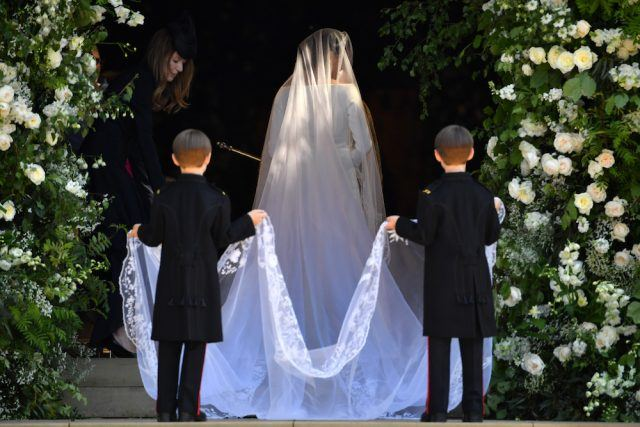 Meghan Markle's royal wedding veil