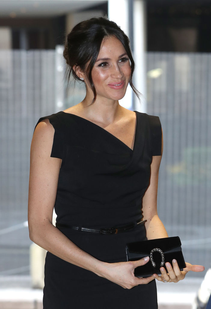 Meghan Markle attends the Women's Empowerment reception hosted by Foreign Secretary Boris Johnson