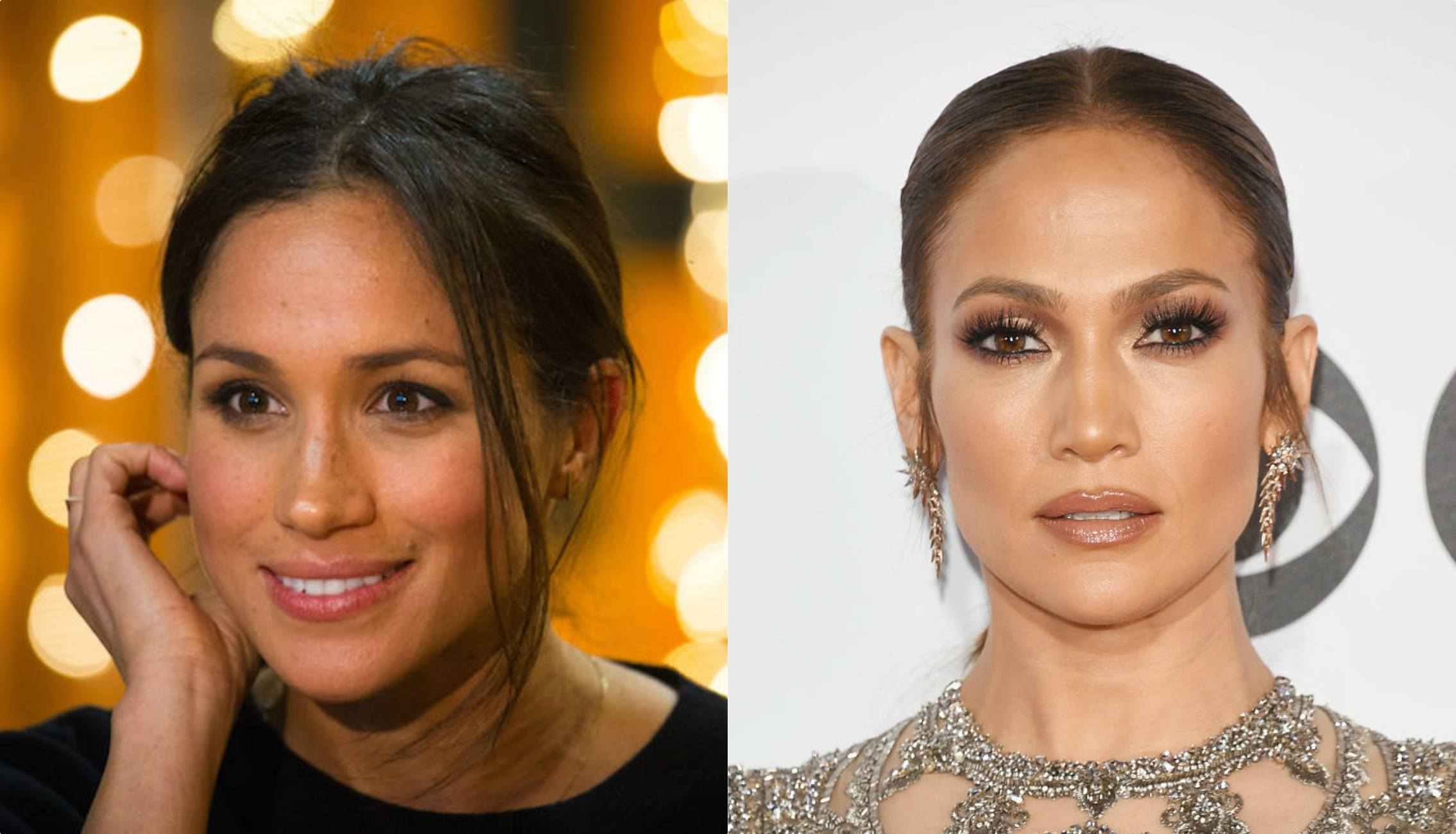 Meghan Markle and JLo skin