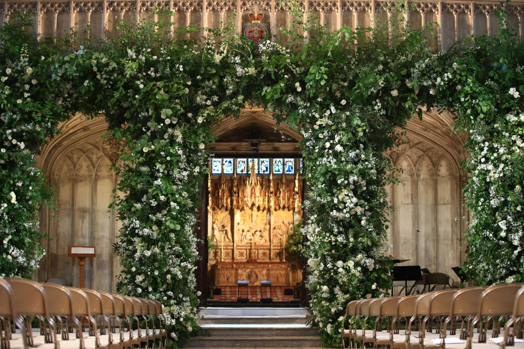 Meghan and Harry wedding flowers