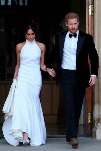 Prince Harry and Meghan Markle wedding reception