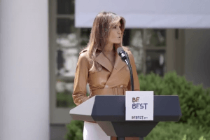First Lady Melania Trump Totally Ripped Off Obama for Her 'Be Best' Campaign