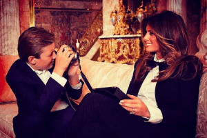 These Photos of Melania Trump Prove She's Not as Miserable at the White House as People Think