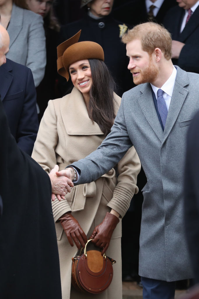 Meghan Markle and Prince Harry attend Christmas Day Church service