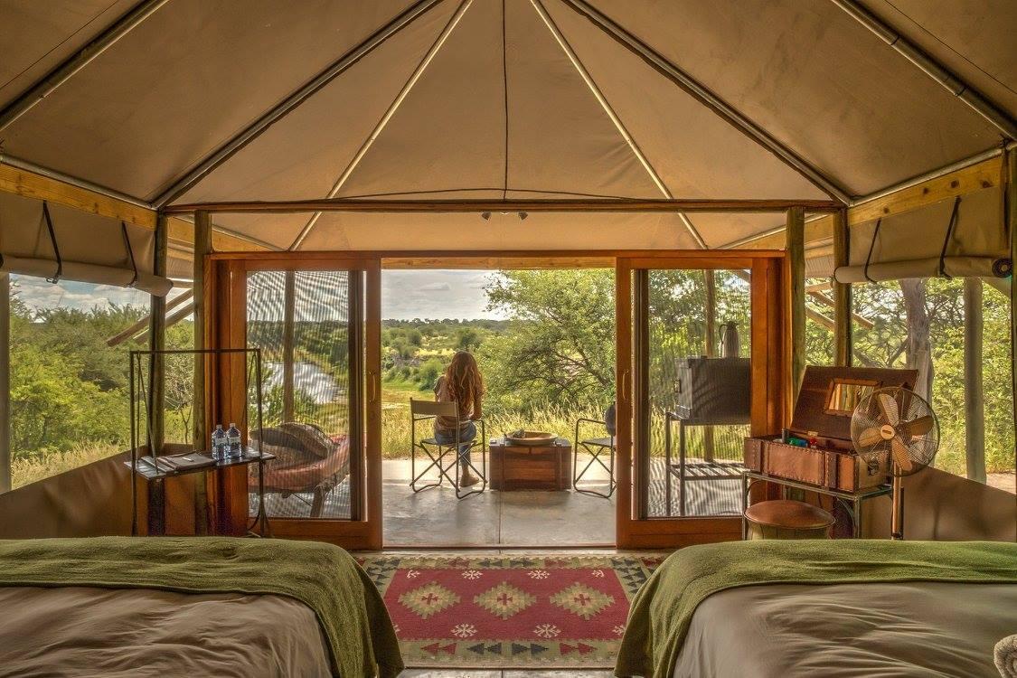 Meno A Kwena cabin
