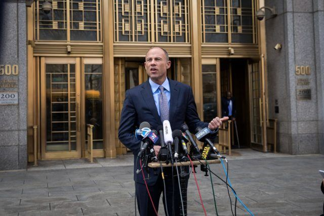 Avenatti Responds After Bail to Alleged Domestic Violence Arrest
