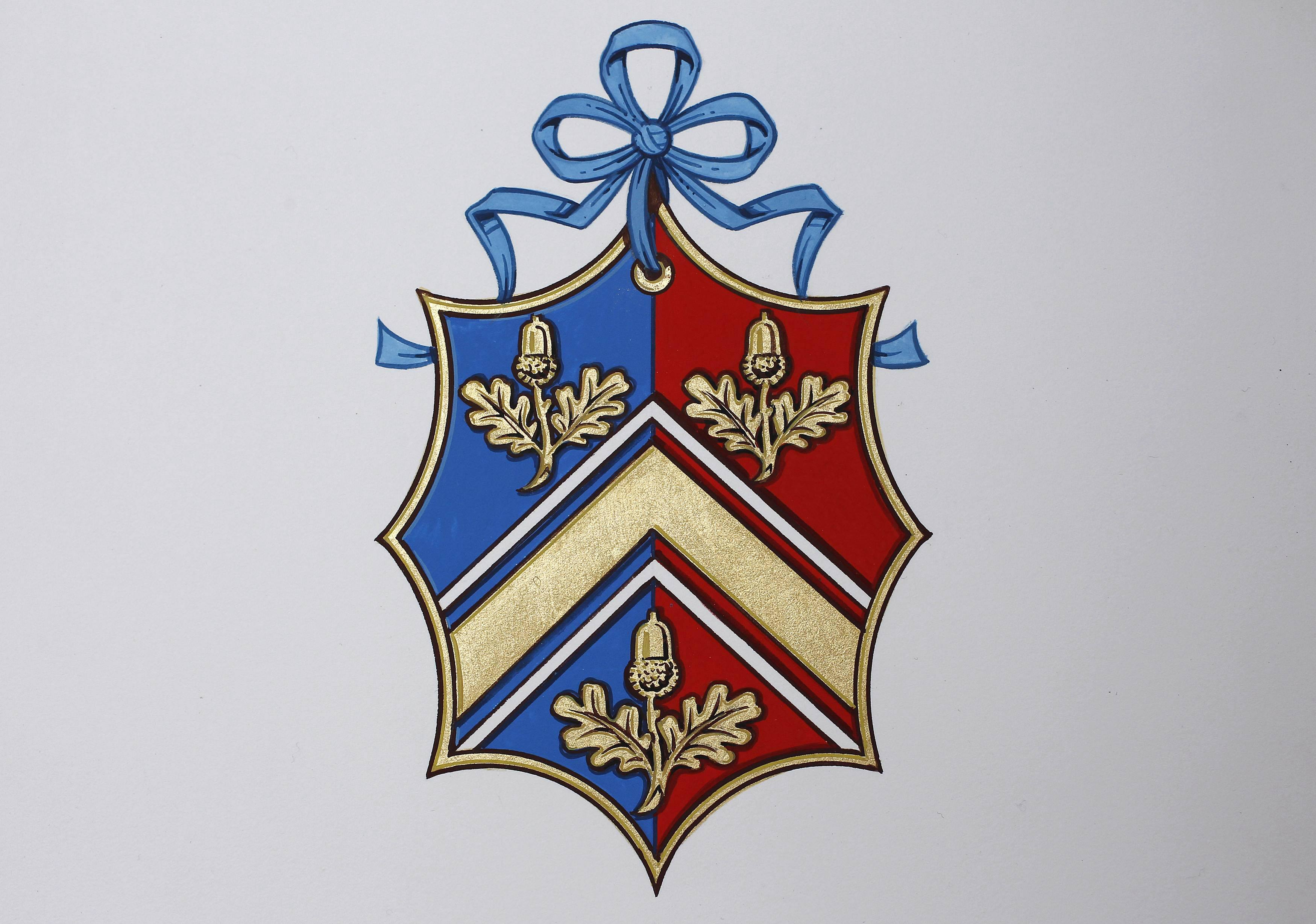 The new Coat of Arms for Kate Middleton'