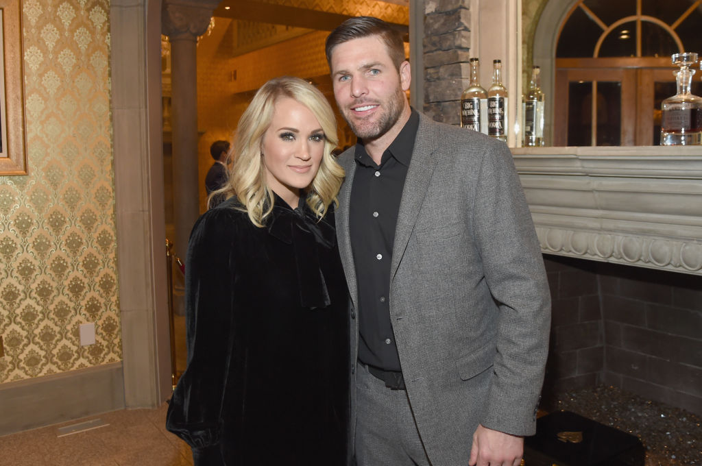 Carrie Underwood and Mike Fischer