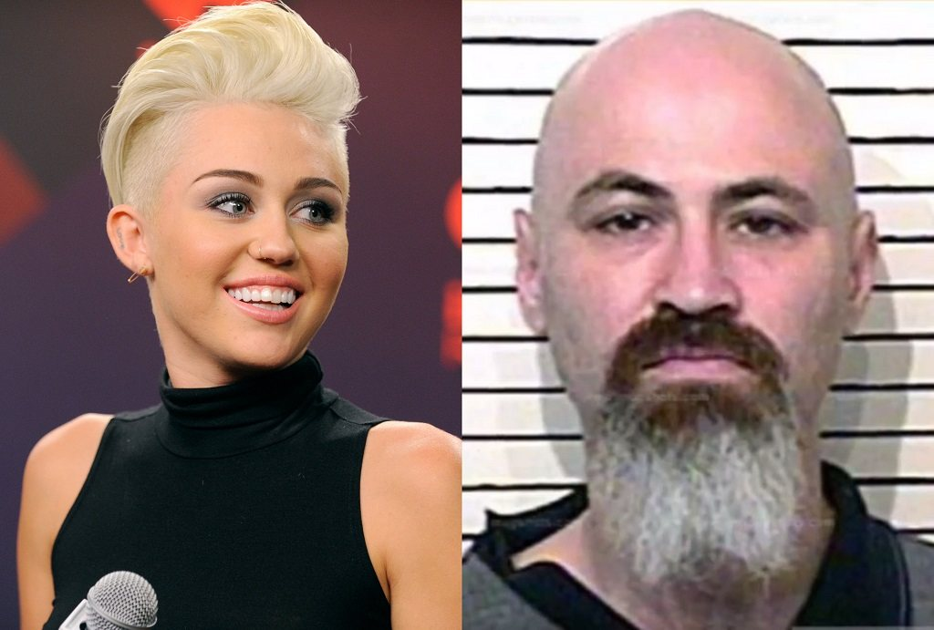 Pop star Miley Cyrus and her stalker