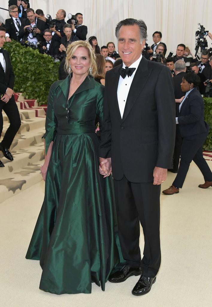 Mitt Romney at Met Gala Heavenly Bodies: Fashion & The Catholic Imagination Costume Institute Gala - Arrivals