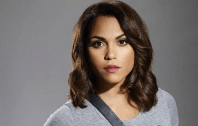 Monica Raymund in 'Chicago Fire'.