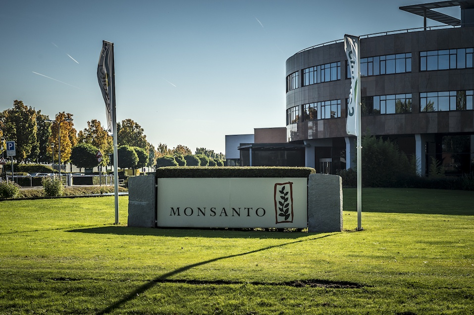 Entrance Monsanto Holland B.V. Bergschenhoek, active in the sector wholesale of grain, unmanufactured tobacco, oil, seeds and animal feed