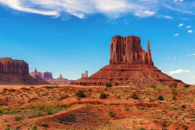 Monument Valley West Thumb, Arizona, USA