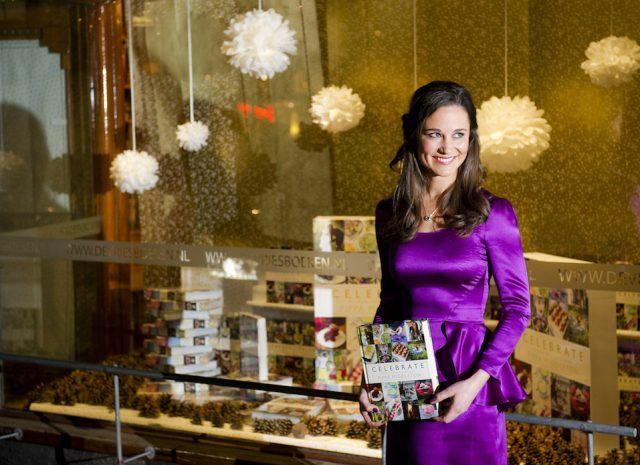 """Party planner Pippa Middleton promotes the Dutch edition of her book """"Celebrate: A Year of British Festivities"""