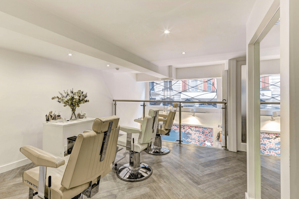 Nails and Brows studio in Mayfair