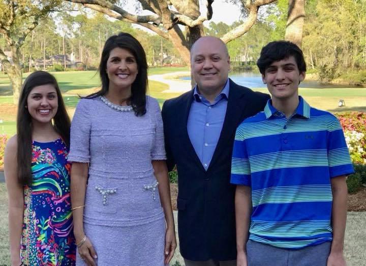 Nikki Haley family
