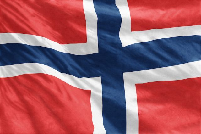 Norway's flag.