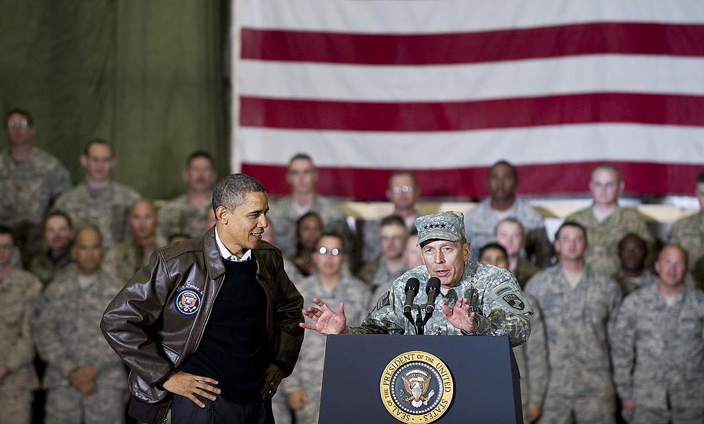 President Barack Obama in Afghanistan