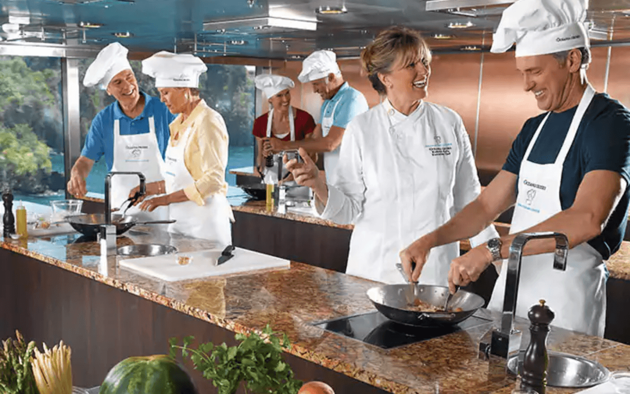 Oceania cooking classes