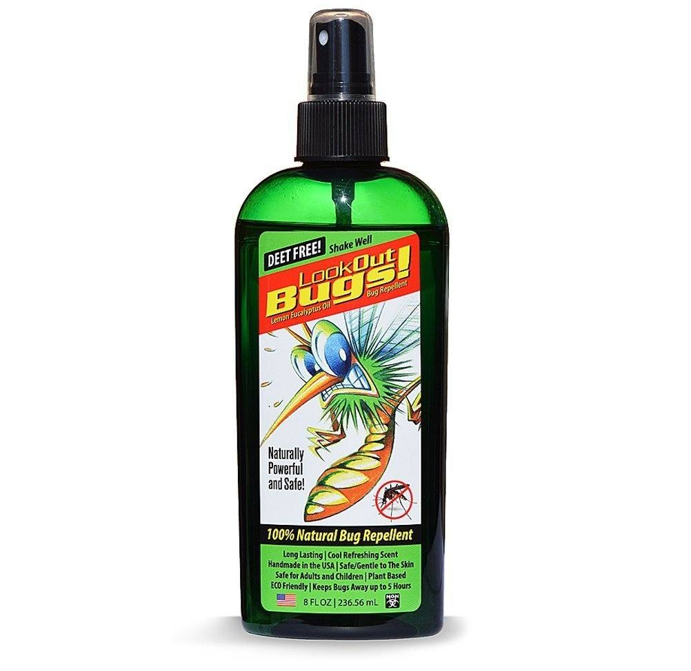 Oil of lemon eucalyptus spray