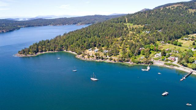 San Juan Islands Washington USA
