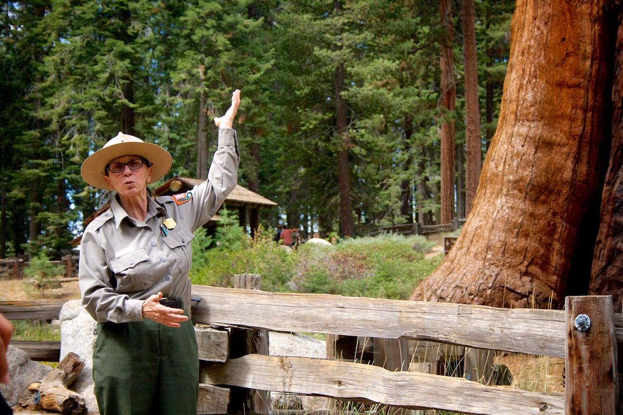 Park Ranger Talk at Sequoia NP