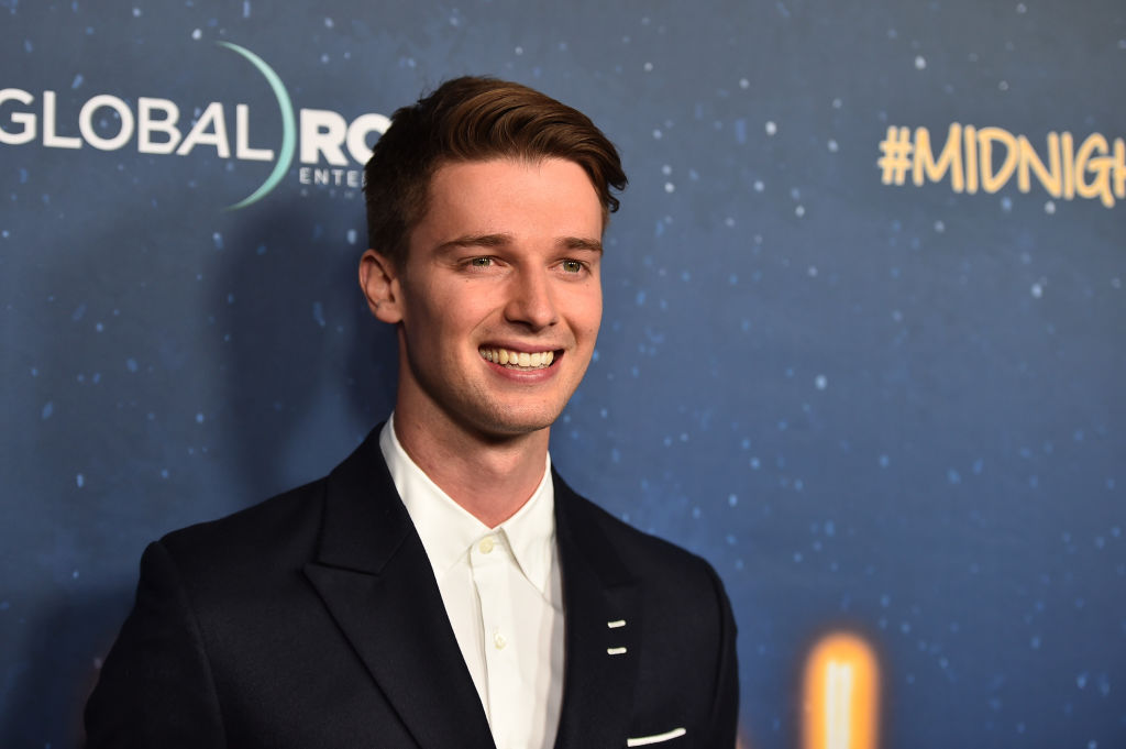 "Patrick Schwarzenegger attends Global Road Entertainment's world premiere of ""Midnight Sun"" at ArcLight Hollywood on March 15, 2018 in Hollywood, California."