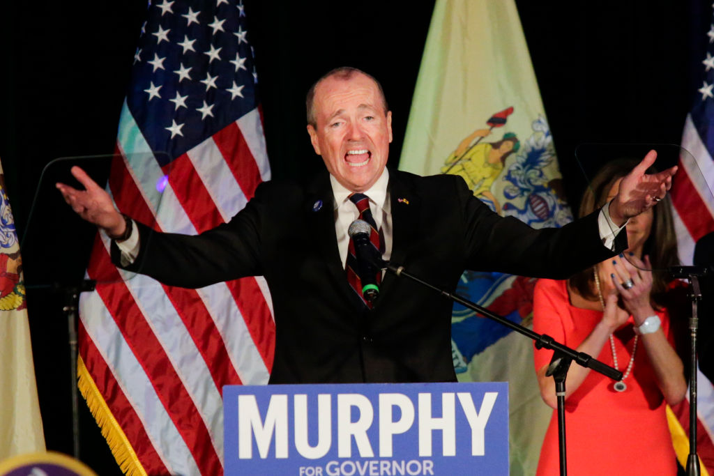 New Jersey Gov.-elect Phil Murphy