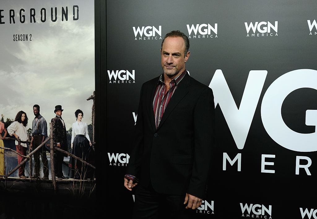 Actor Chris Meloni attends the photo call for WGN America's 'Underground' and 'Outsiders'