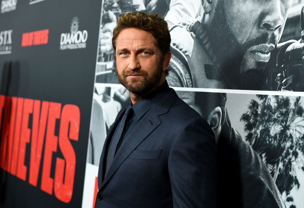 Gerard Butler attends the premiere of STX Films
