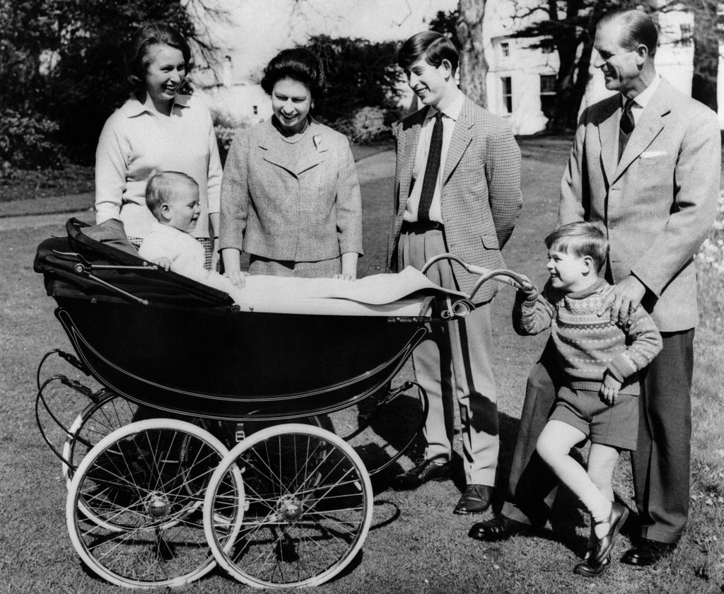 British Royal family including philip, charles, elizabeth, andrew, anne and edward