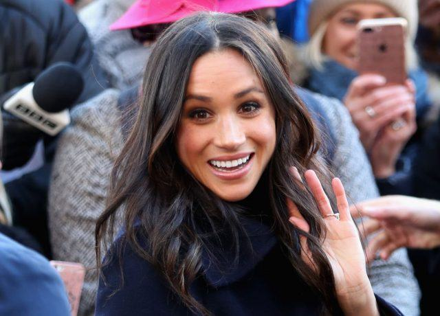 Meghan Markle attends the Terrance Higgins Trust World AIDS Day charity fair at Nottingham Contemporary.