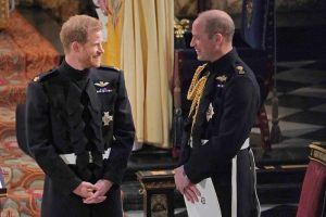 These Are the Sweetest 'Brotherly' Moments Between Prince Harry and Prince William at the Royal Wedding