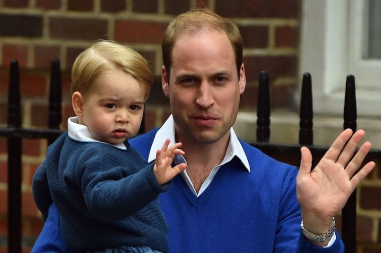 Prince William and Prince George