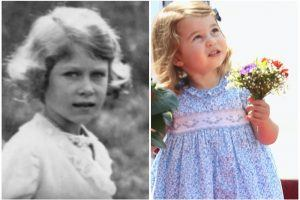 The 1 Photo That Reveals How Much Princess Charlotte Looks Like Queen Elizabeth