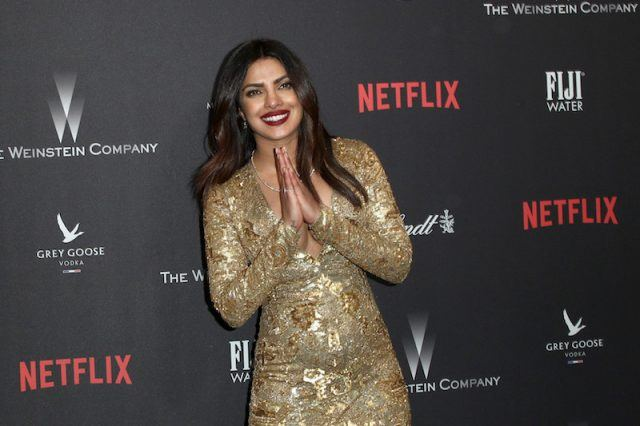 Priyanka Chopra on a red carpet.